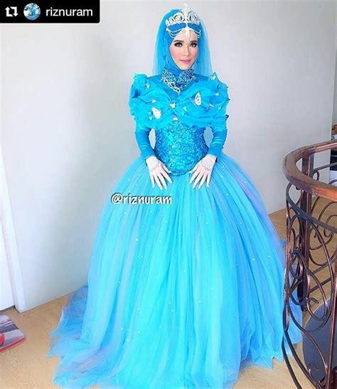 Baju Warna Biru Tekois baju pengantin warna biru mewah remaja update remaja update