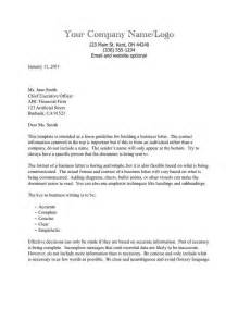 Writing A Business Letter Template tips on how to write the professional business letter