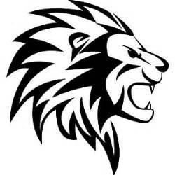 passion stickers t 234 te de lion tribal autocollant muraux