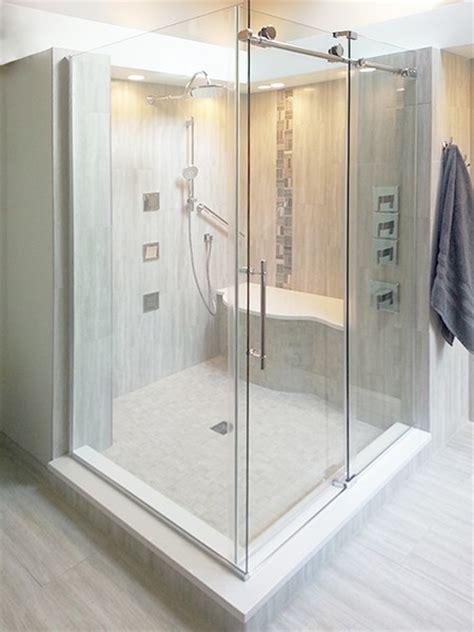 Fleurco Shower Door Fleurco K2 Frameless Sliding Showers Creative Mirror Shower