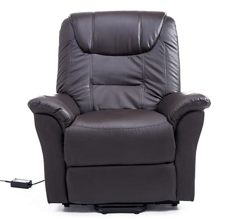 recliners electric controls homcom lift chair power recliner electric leather assist