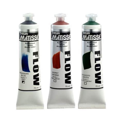 acrylic paint formula matisse flow formula acrylic paint
