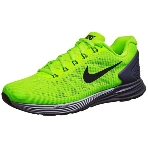 bright green nike running shoes neon green anthracite nike lunarglide 6 shoes for