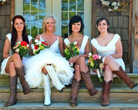 Country Chic Ls by 25 Best Ideas About Bridesmaids Cowboy Boots On