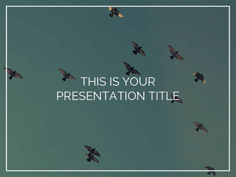 inspirational free presentation templates
