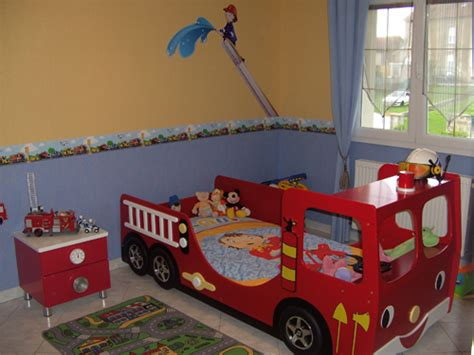 chambre enfant pompier chambre garcon pompier raliss com