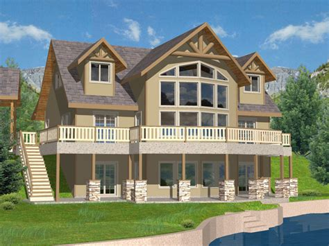 lake house house plans purcell lake rustic home plan 088d 0259 house plans and more