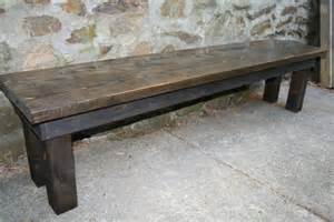 rustic wooden bench rustic wooden bench by tipsyfish on etsy