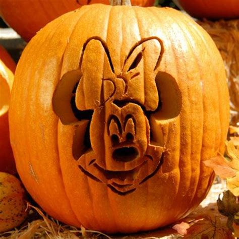 minnie mouse template for pumpkin carving cool disney inspired pumpkin carving ideas