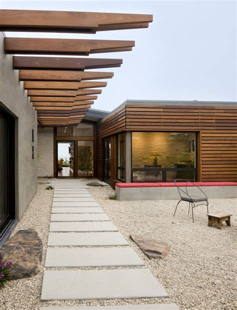ten modern concrete hardscape applications  homes