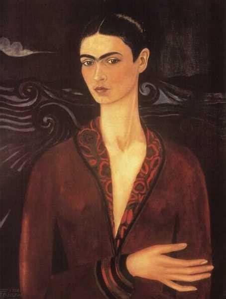 frida kahlo self portrait biography frida kahlo