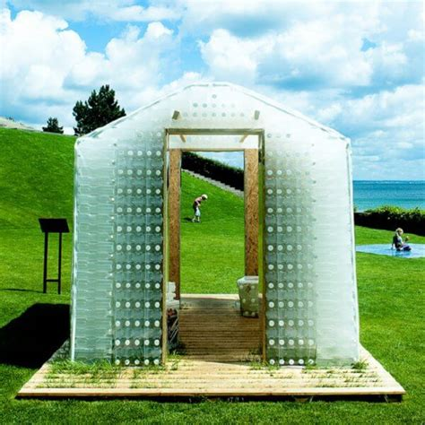 Plastic Bottle Shed by Plastic Bottle Homes And Greenhouses Nifty Homestead