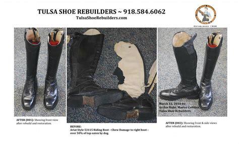 boat repair tulsa ariat english riding boot repair from tulsa shoe