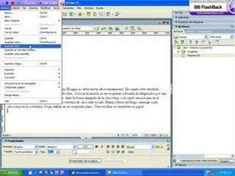 tutorial adobe dreamweaver cap 1 crearsitio avi youtube 1er tutorial dreamweaver en espa 241 ol 1 de 4 doovi