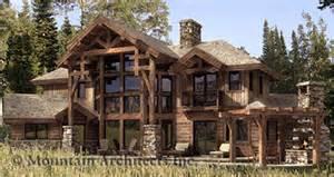 Timber Homes Floor Plans by Hybrid Timber Log Home Plans Timber Frame Hybrid Log And
