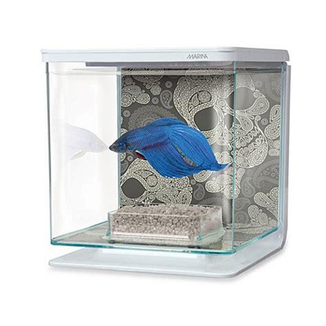 bed bath and beyond marina marina skull theme betta aquarium kit bed bath beyond