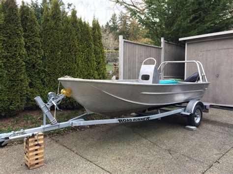 aluminum boats for sale duncan bc 14 5ft welded aluminum center console north saanich