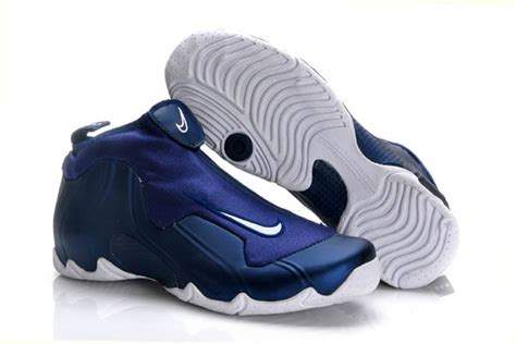 navy blue and white basketball shoes picture of nike air flightposite one navy blue and royal