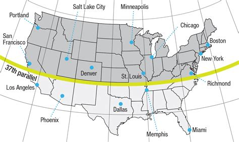 latitude map usa us map with latitude and longitude