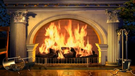 Wallpaper Fireplace by Fireplace Wallpaper And Background 1366x768 Id 673971