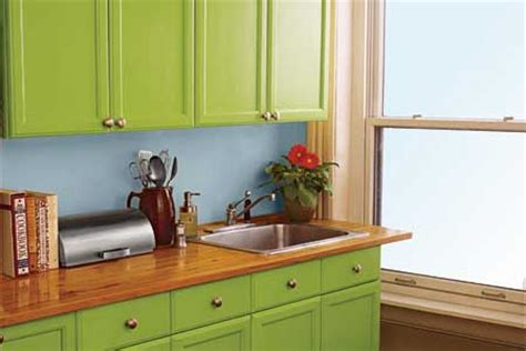 Painted Old Kitchen Cabinets by How To Paint Kitchen Cabinets This Old House