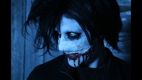 diy jeff  killer halloween makeup tutorial youtube
