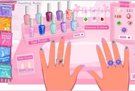 painting nails dress up dazzling nails doraemon doraemon