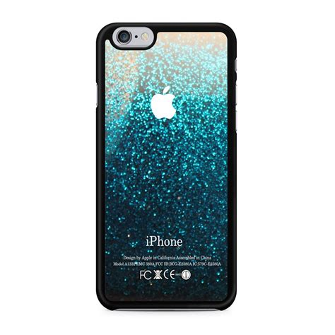 Gradient Glitter Air Water Bling Samsung S8 blue water faux glitter iphone 6 6s persona