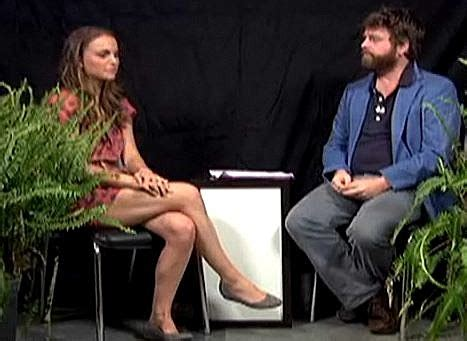 michael cera between two ferns zach galifianakis between two ferns will get awkward on tv