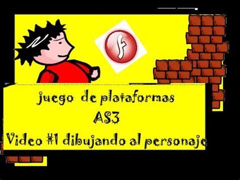 tutorial flash juego de plataformas adobe flash juego de plataforma en as3 paso a paso 1