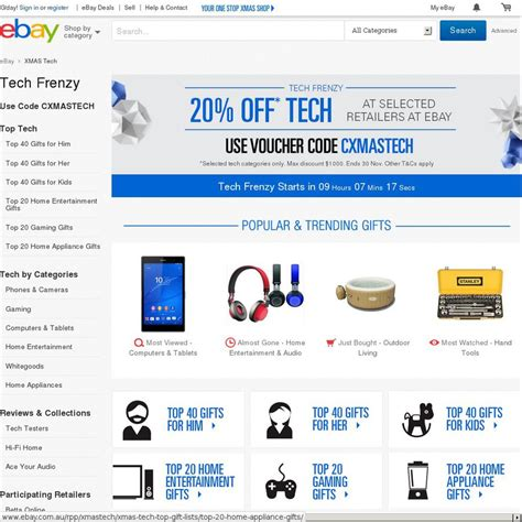 Ebay Ozbargain | ebay tech frenzy 20 off on selected retailers page 2