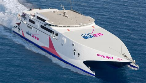 ferry boat from mykonos to santorini sea jets tickets high speed greek ferry around the