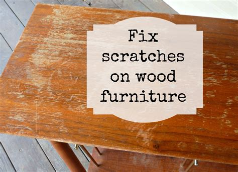 scratches on wood table diy fix scratches in wood furniture mizzeliz working