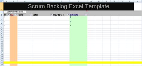 agile excel template gse bookbinder co