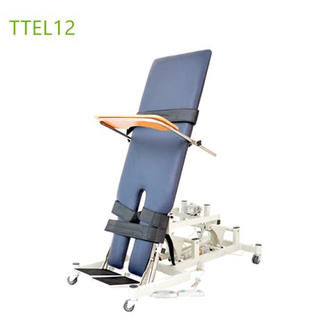 tilt table for back electric tilting tables physical therapy ttel12 rehab