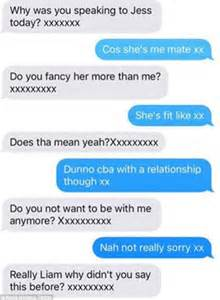 Nice Breakup Letter Girlfriend break up texts on twitter as his now ex girlfriend questions him about