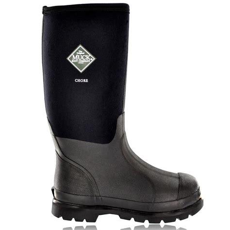 muck boot chore hi black