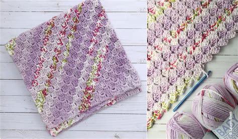 easy cc crochet baby blanket crochet valley