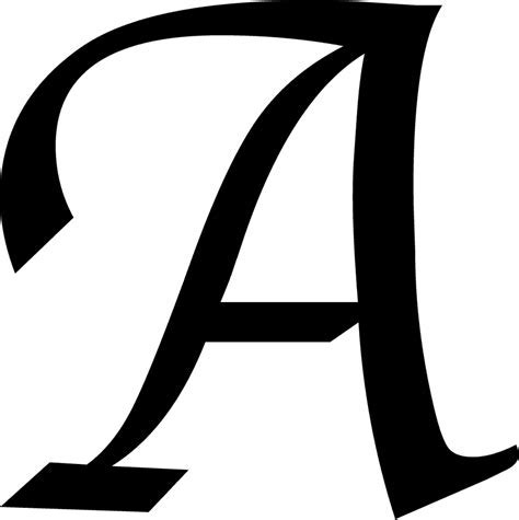 Clipart letter a PNG and cliparts for Free Download   Hddfhm
