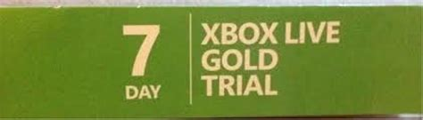 xbox 7 day trial free free xbox live 7 day trial membership lowest gin prepaid cards codes listia