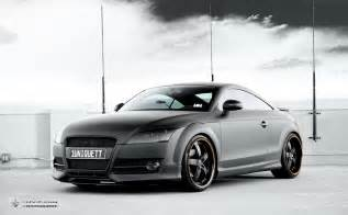 oettinger matte black audi tt car tuning