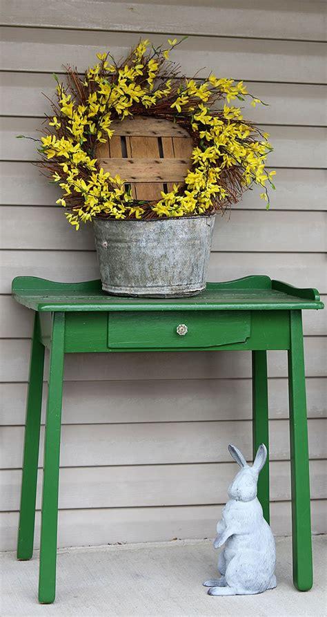 farmhouse spring porch decor house of hawthornes