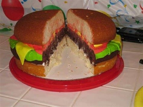 colorful krabby patties inside the krabby patty cake gonna try this for abbys