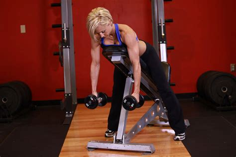 bench shrugs image gallery incline bench dumbbell shrugs