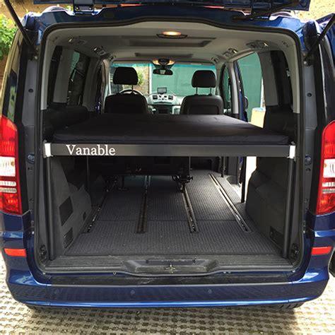 mercedes viano bett home vanable 174 macht jeden zum wohnmobil