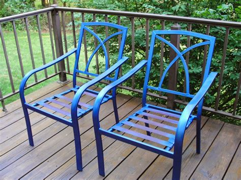 Patio Furniture Makeover the proule patio furniture makeover