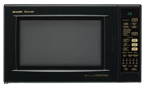 Microwave Oven Sharp R 222y r 930ak black convection microwave oven 1 5 cu ft oven
