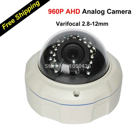 Cctv Analog best surveillance varifocal vandal proof dome ahd camara surveillance cctv analog 960p hd