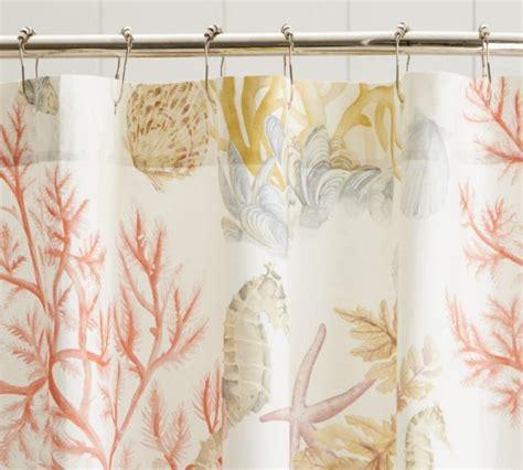 Coastal Shower Curtains Coastal Nautical Bathroom