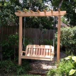Swing Pergola Plans by Amazing Pergola Swing Set Plans Garden Landscape